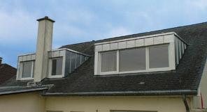 dakkapel met zink dmv felstechniek