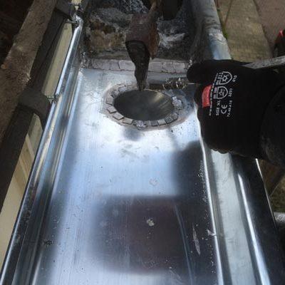 renovatie dakgoot
