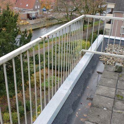 zinken deklijst balkon